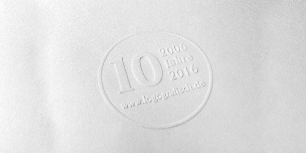 10 Jahre logografisch