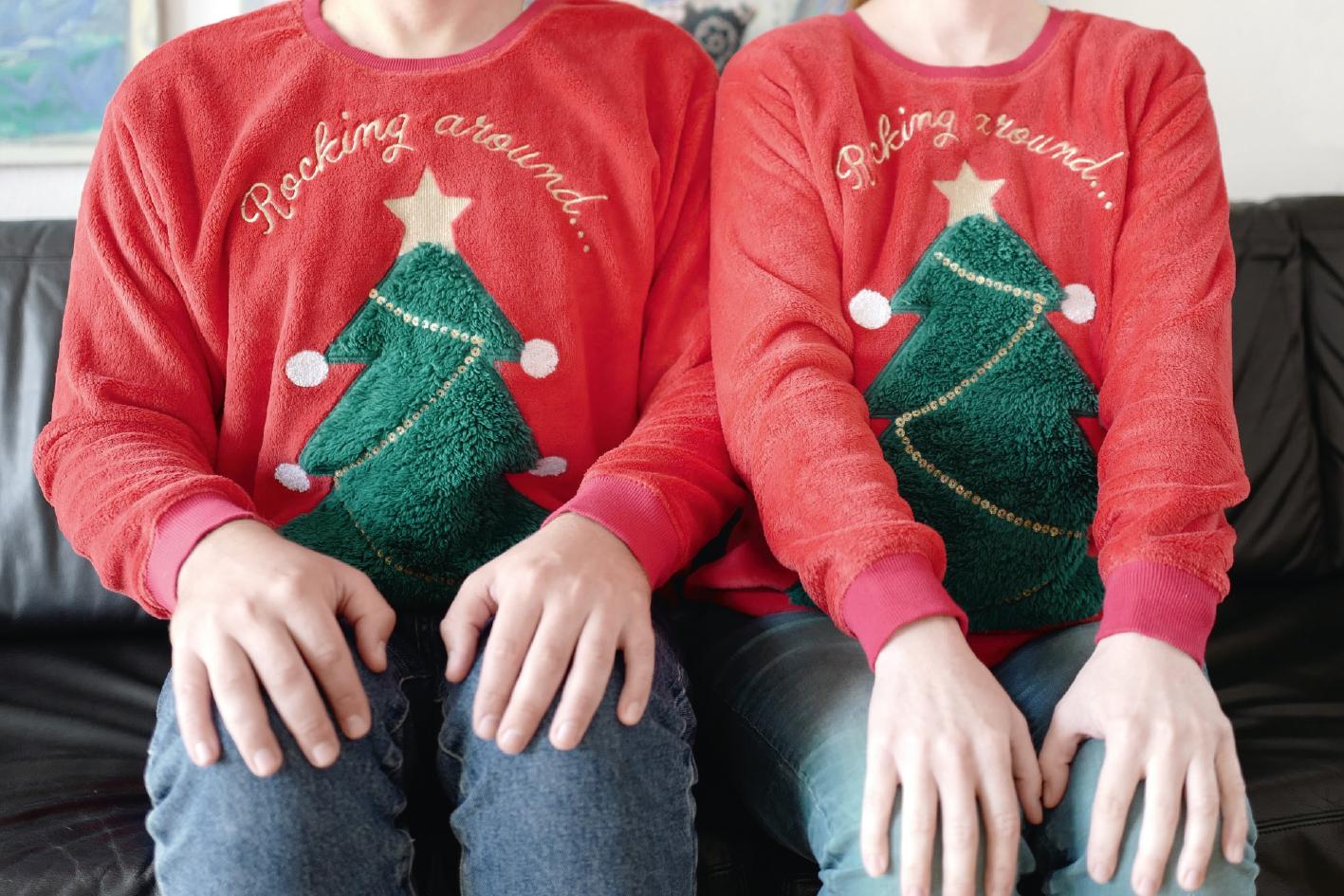 Tag der hässlichen Weihnachtspullover