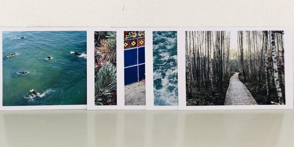 Achtsam – 12 Postkarten | 12 Übungen